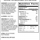 Apple Cinnamon Pancakes Product Label