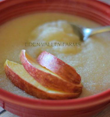 Apple Cream of Wheat