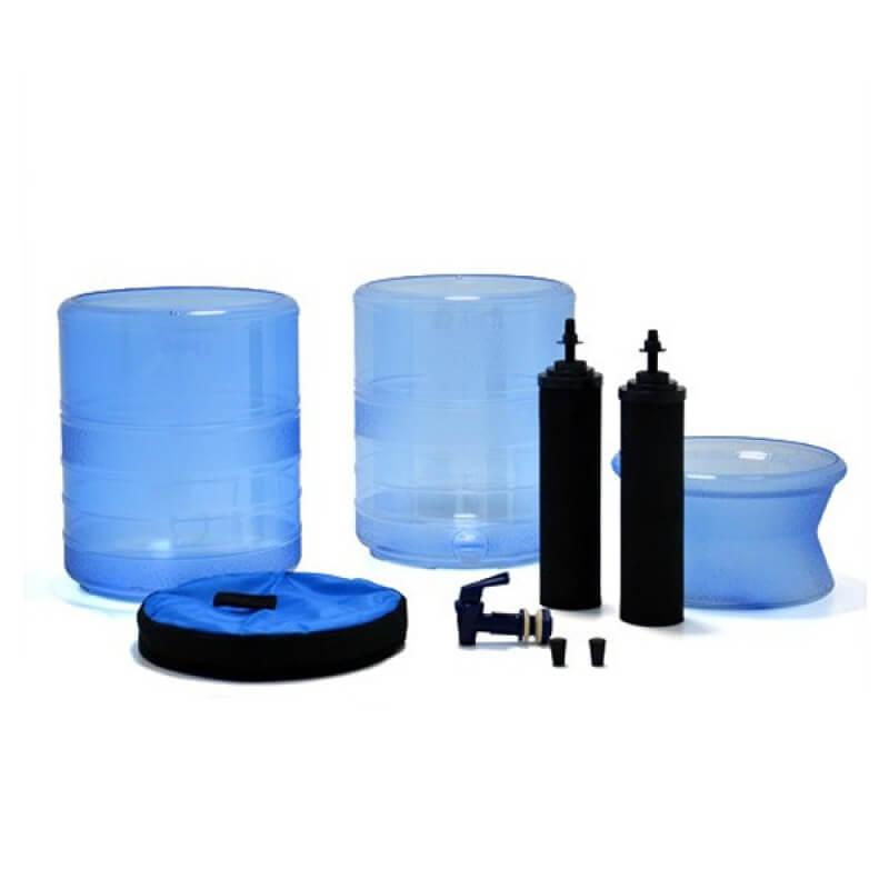 Berkey Light Water Filter 2 75 Gallon Capacity Eden