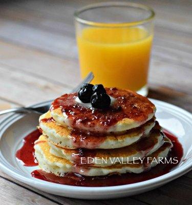 Eden Valley Blueberry Pancakes1
