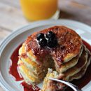 Eden Valley Blueberry Pancakes2