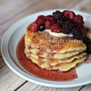 Eden Valley Honey Whole Wheat Pancakes2