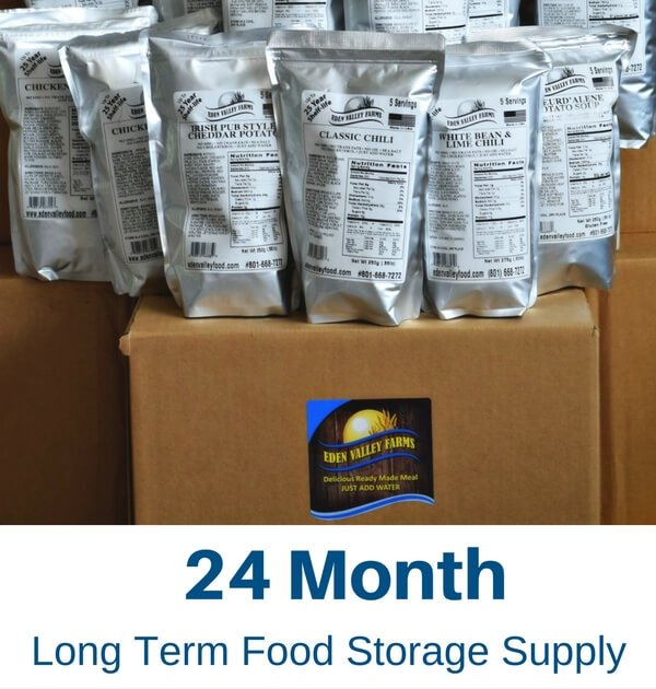 Long Term Food Storage Supply
