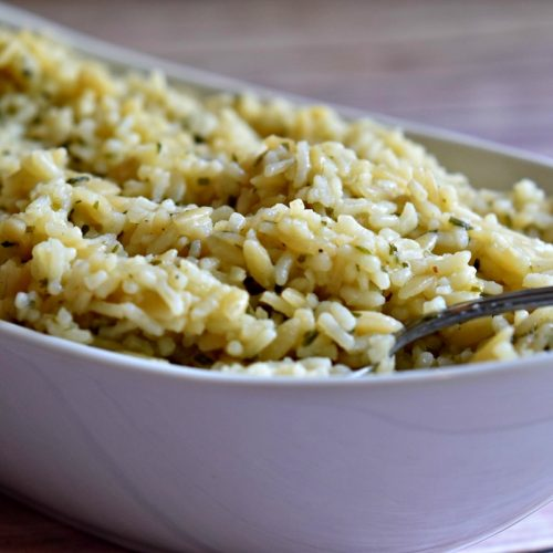 Optimized-chicken rice pilaf