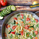 Pasta Primavera Long Term Food Storage