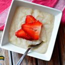 strawberry cream of wheat breakfast
