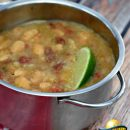 soup white bean lime