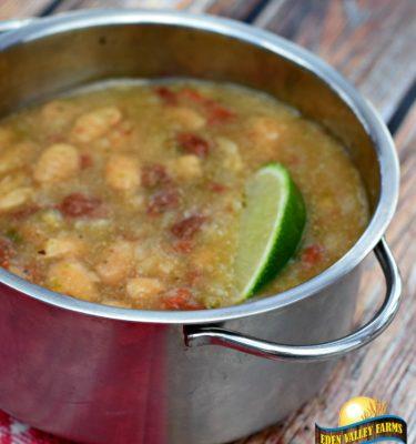soup white bean lime
