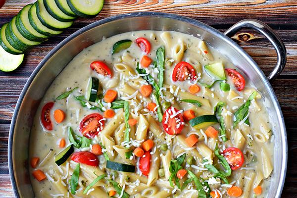 Turkey Pasta Primavera Recipe