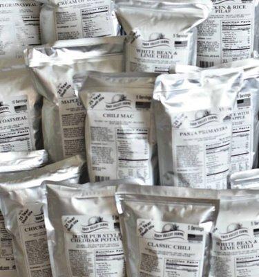 Emergency Food Supply Entree Sampler