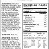 Chicken A La King Product Label
