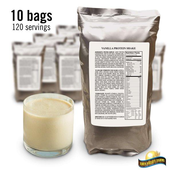 10 Bags Vanilla Shake