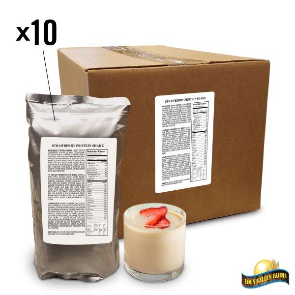 Box Shakes Strawberry
