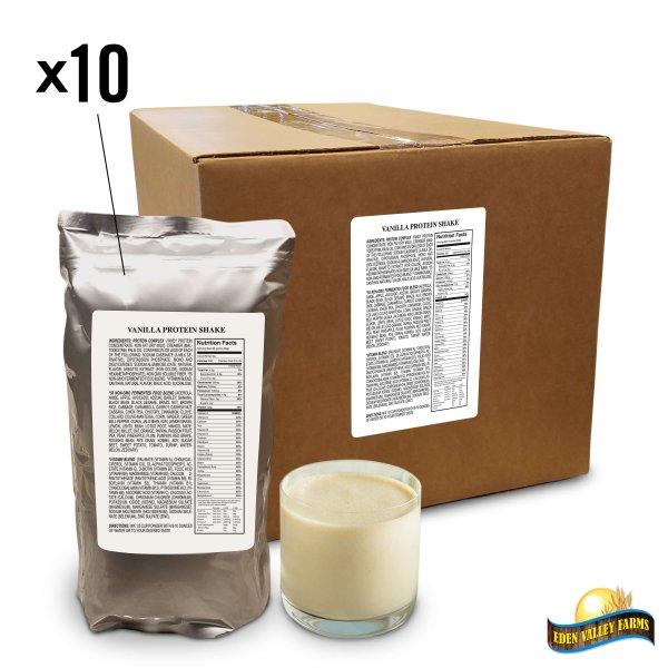 box of vanilla shakes