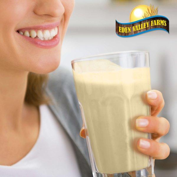 Vanilla shake drink