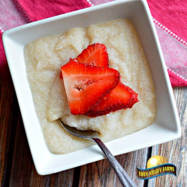 Strawberry Cream of Wheat