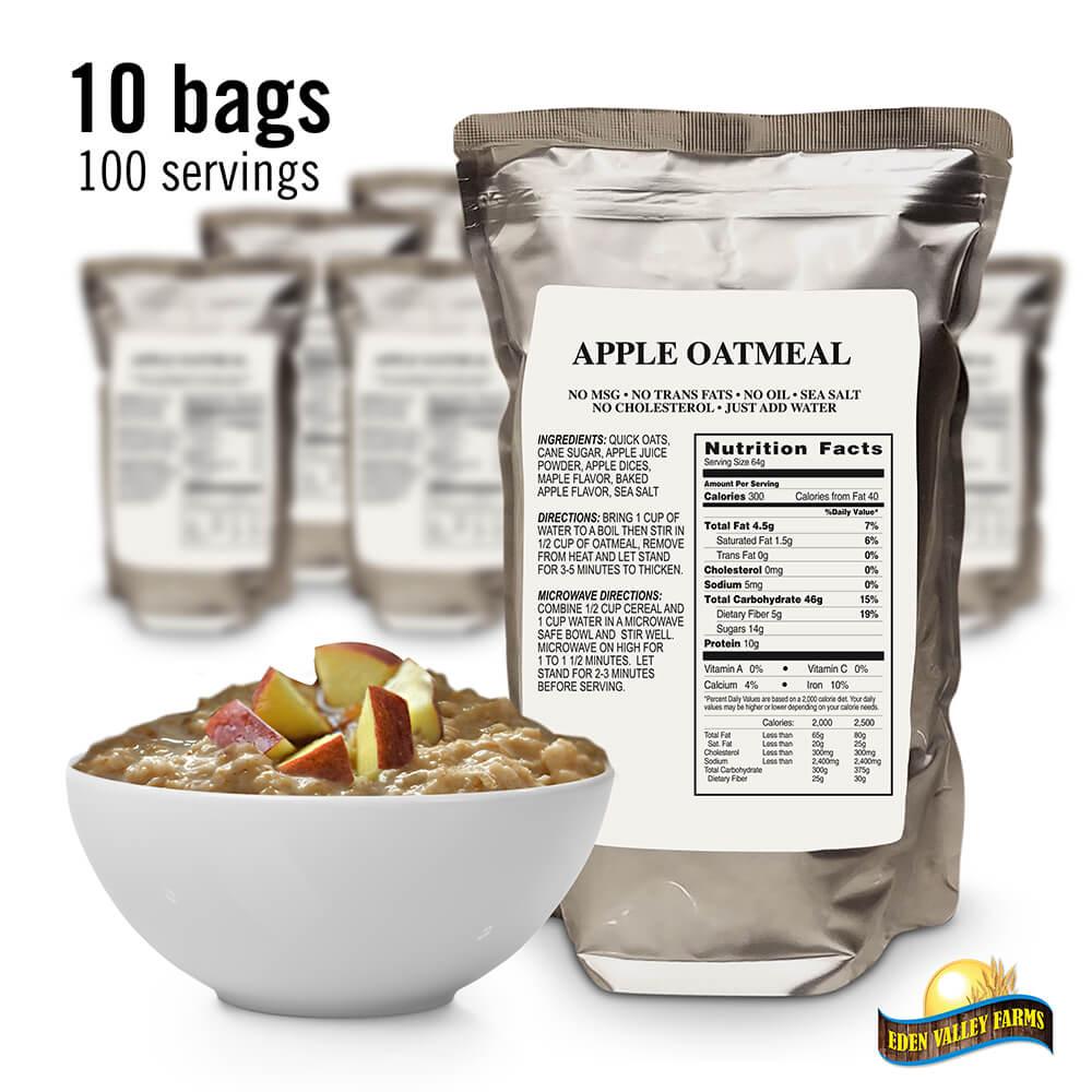 Bag&Product_AppleOatmeal