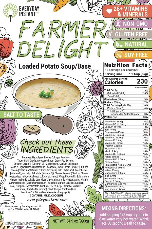 Loaded Potato Soup Base